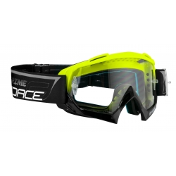 Brýle Force GRIME sjezdové černo-fluo | čiré sklo obr.[1]