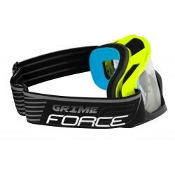 Brýle Force GRIME sjezdové černo-fluo | čiré sklo obr.[2]