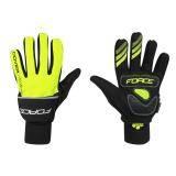 Zimní rukavice FORCE COVER | fluo