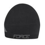 Čepice pod přilbu FORCE UNI   černá