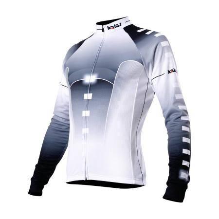 Cyklo dres dlouhý rukáv Titan12 | bílý
