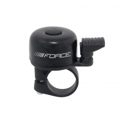 Zvonek Force MINI Fe/plast 22,2mm paličkový | černý obr.[1]