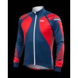 W&W Zimní bunda TITAN X8 | červená/modrá