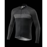 Cyklistický zateplený dres PASSION X7 | černý
