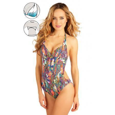 Jednodílné plavky s košíčky push-up Art.52109