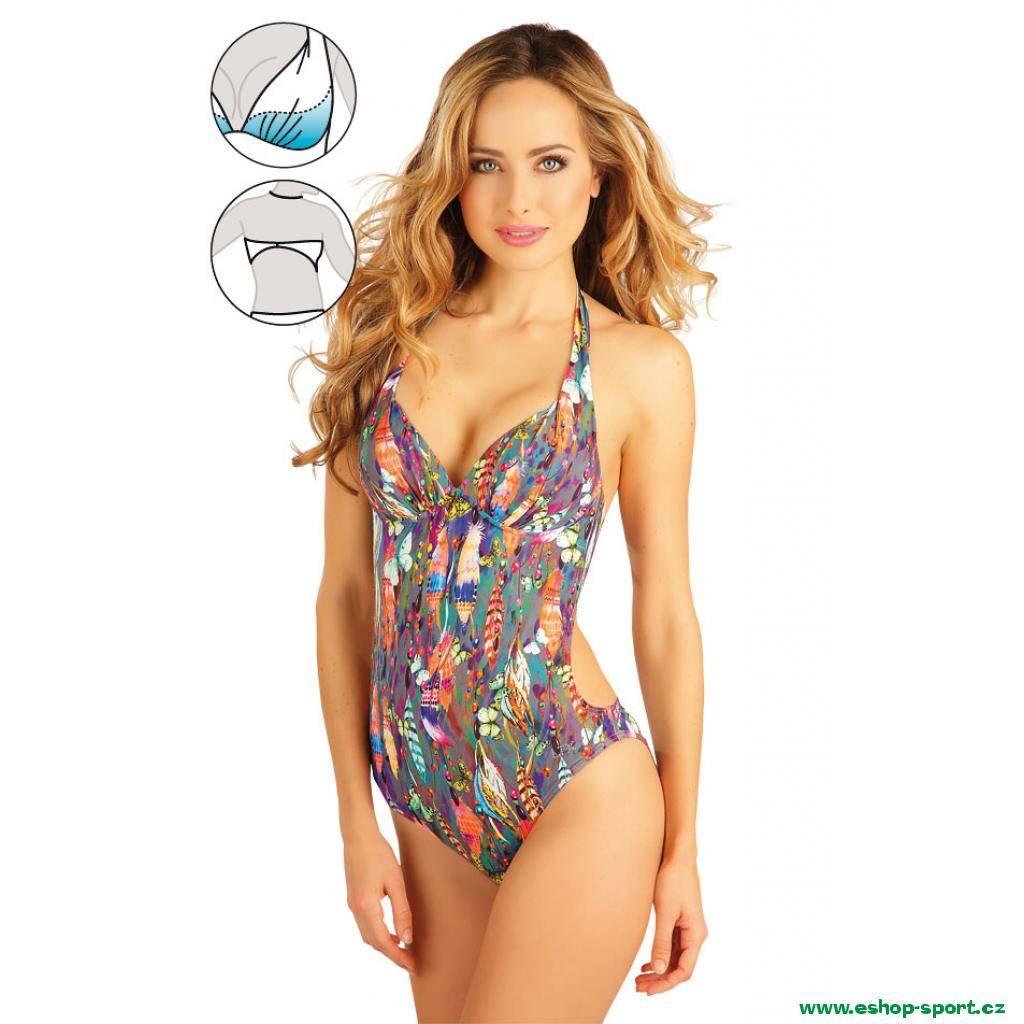 13c0e847df Jednodílné plavky s košíčky push-up Art.52109