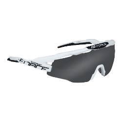 Brýle FORCE EVEREST | bílo-černé | černá skla