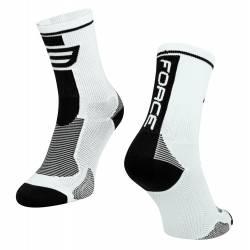 Ponožky Force Long | bílo-černé obr.[1]