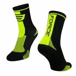 Ponožky Force Long | černo-fluo obr.[1]