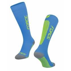 ponožky FORCE TESSERA KOMPRESNÍ | modrá obr.[1]