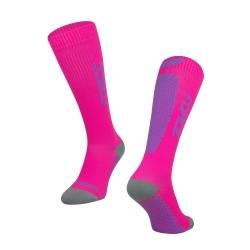 Ponožky FORCE TESSERA KOMPRESNÍ | růžové obr.[1]