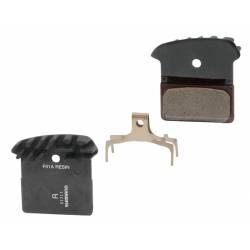 Brzdové destičky Shimano BRM985 polymer |s pružinou | chladič obr.[1]
