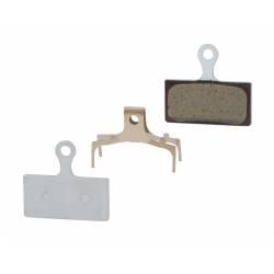 Brzdové destičky Shimano BRM985 polymerové | s pružinkou obr.[1]