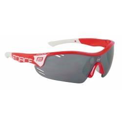 Brýle Force RACE PRO červeno-bílé | černá laser skla obr.[1]