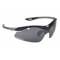 Brýle Force DUKE černé | černá laser skla obr.[1]