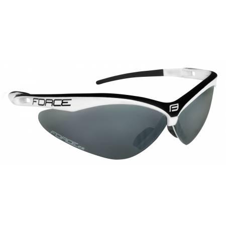 Brýle Force AIR bílo-černé   černá laser skla obr.[1]