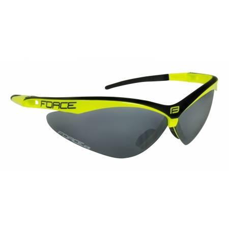 Brýle Force AIR fluo-černé | černá laser skla obr.[1]