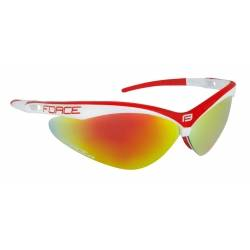 Brýle Force AIR bílo-červené | červená laser skla obr.[1]