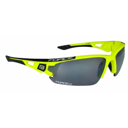 Brýle FORCE CALIBRE fluo žluté | černá laser skla obr.[1]