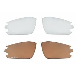 Brýle FORCE CALIBRE fluo žluté | černá laser skla obr.[2]