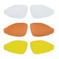 Brýle FORCE PRO bíle | červená skla obr.[2]
