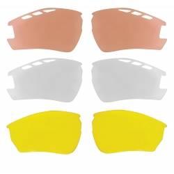 Brýle Force RIDE PRO bílé | dioptrický klip | črn las skla obr.[2]
