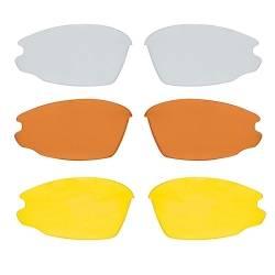 Brýle Force LIGHT bílé | modrá laser skla obr.[2]