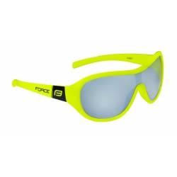 Brýle Force POKEY dětské | fluo-černé | černá skla obr.[1]