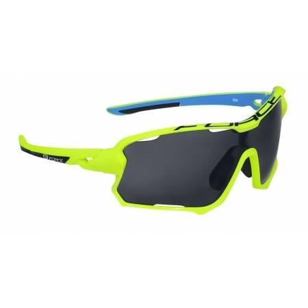 Brýle Force EDIE fluo-modré | černé skla obr.[1]