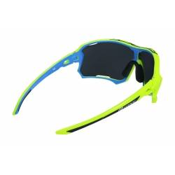 Brýle Force EDIE fluo-modré | černé skla obr.[2]