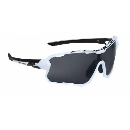 brýle FORCE EDIE, bílo-černé, černé skla obr.[1]