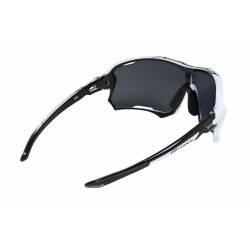 brýle FORCE EDIE, bílo-černé, černé skla obr.[2]