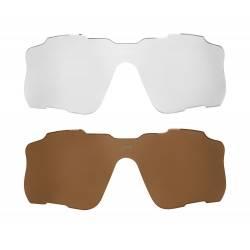 brýle FORCE EDIE, bílo-černé, černé skla obr.[3]