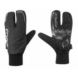 Zimní rukavice Force HOT RAK 3-prsté | černé obr.[1]