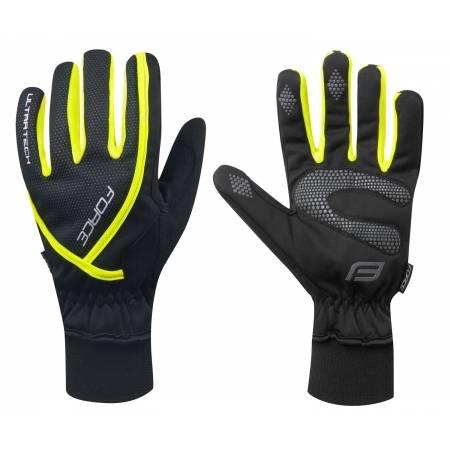Zimní rukavice Force ULTRA TECH | fluo obr.[1]