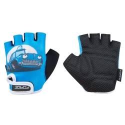 Dětské rukavice KID | modré-auto obr.[1]