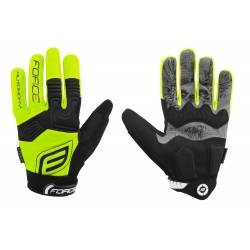 Rukavice Force MTB AUTONOMY | fluo obr.[1]