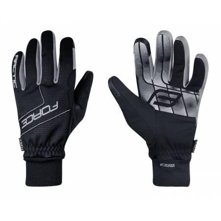 Zimní rukavice Force ARTIC | černé obr.[1]
