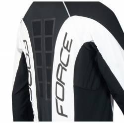 Bunda Force dlouhý rukáv X68 PRO | černo-bílá obr.[4]