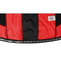 Bunda Force dlouhý rukáv X68 PRO | černo-červená obr.[5]
