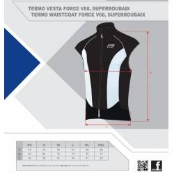 Vesta Force V68, SuperRoubaix | černo-bílá obr.[5]