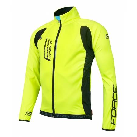 Bunda Force X80 tenký softshell | fluo obr.[1]