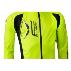 Bunda Force X80 tenký softshell | fluo obr.[3]