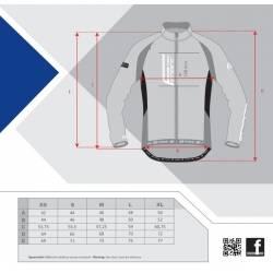 Bunda Force X80 tenký softshell, LADY | modrá-růžová obr.[3]