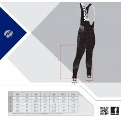 Kalhoty Force DRIFT WIND se šráky bez vložky | černé obr.[2]