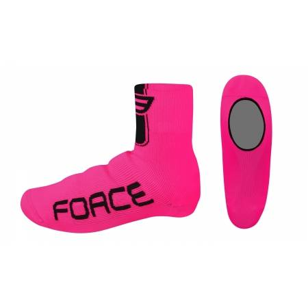 Návleky treter FORCE pletené   růžové obr.[1]