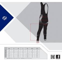 Kalhoty Force DAWN WIND s vložkou | černo-modré obr.[4]