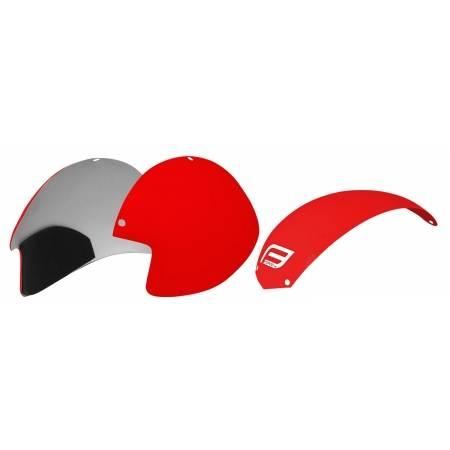 Plasty k přilbě Force GLOBE sada 3 ks | červené obr.[1]