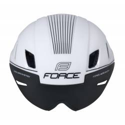 Přilba Force WORM | bílá obr.[3]