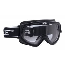 Brýle Force sjezdové černé | čiré sklo obr.[1]